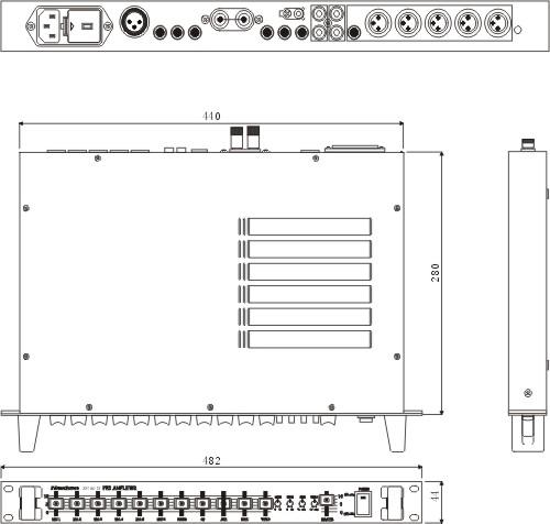 sp-6013 前置放大器